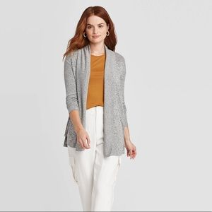 A New Day ribbed ribbed cardigan sweater